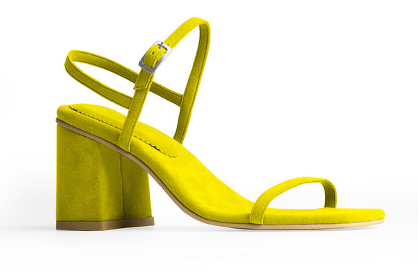 The Simple Sandal – Citrine