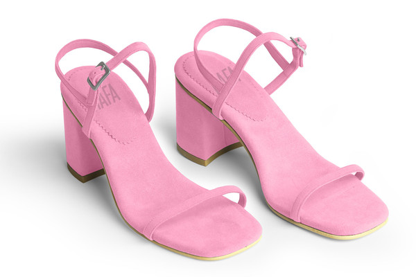 Rafa The Simple Sandal – Peony