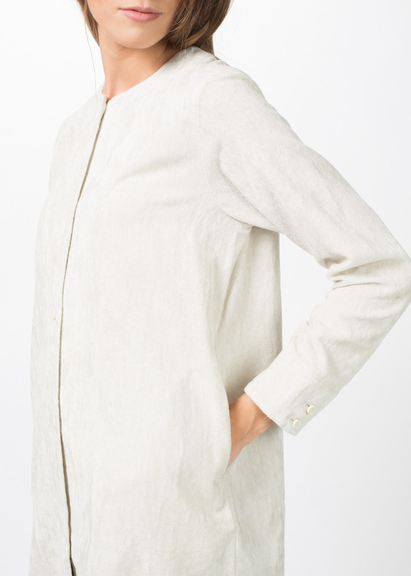 Evam Eva Linen Velvet Tunic