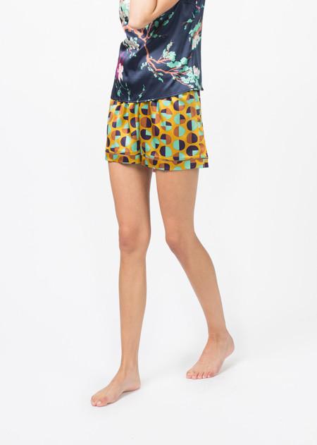 Laura Urbinati Silk Pajama Short