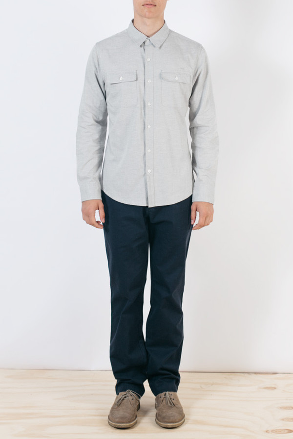 Men's Bridge & Burn Franklin Light Grey Twill
