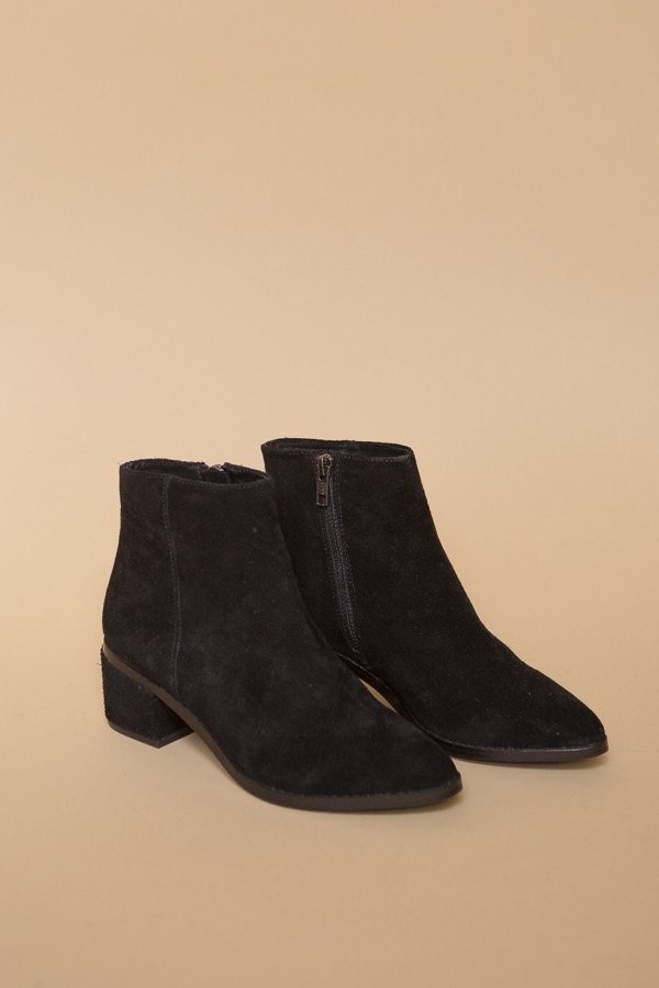 Sol Sana Miles Boot / Black Suede