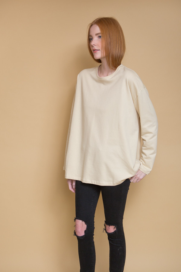 Revisited Matters Sweatshirt Sweater / Cream