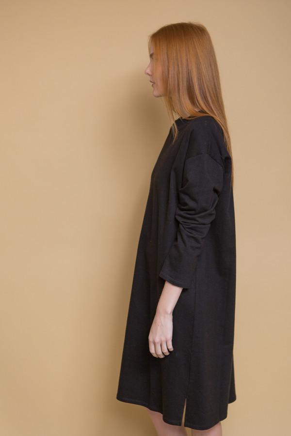 Revisited Matters T-Shirt Sweater Dress - Black