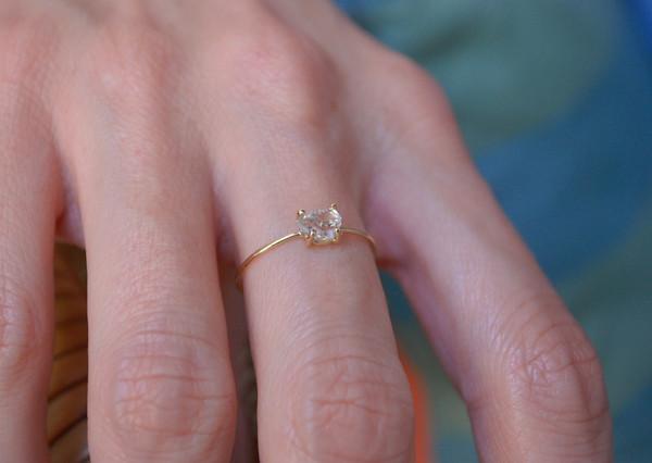 Kristen Elspeth - Herkimer Diamond Ring