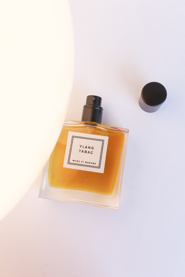 MUSC et Madame YLANG TABAC eau de parfum