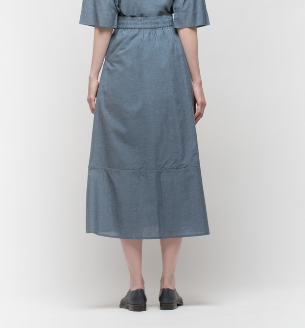 Kowtow Project Skirt Chambray