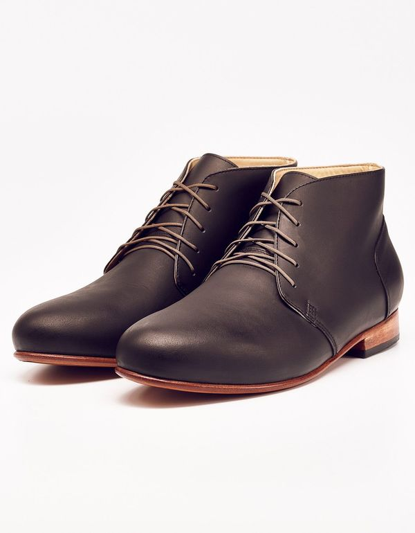 Men's Nisolo Emilio LE Chukka Boot Noir 5 for 5
