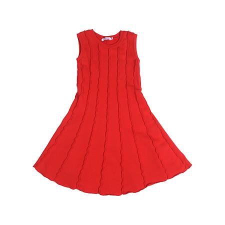 Kid's Mimobee Soho Panel Dress - Racing Red