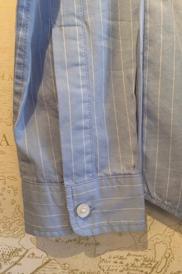 Current Elliott Pinstripe Cotton Prep School Shirt