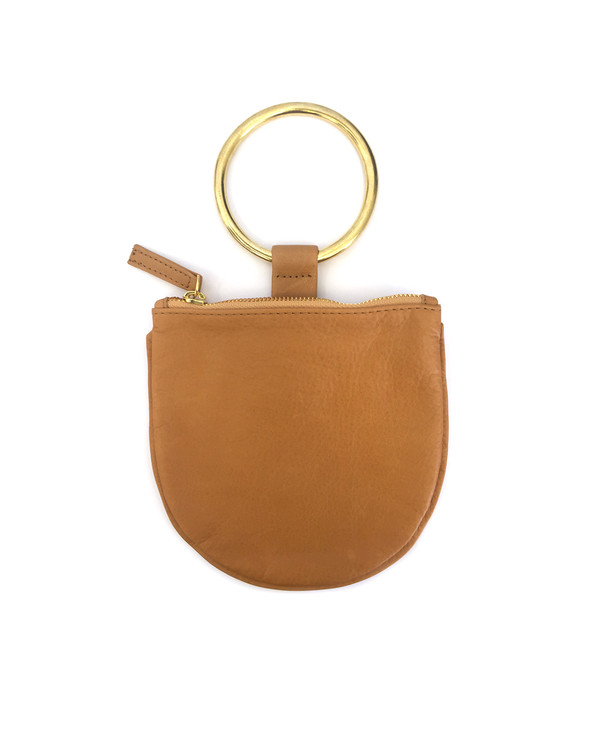 Otaat/Myers Small Ring Pouch in Camel