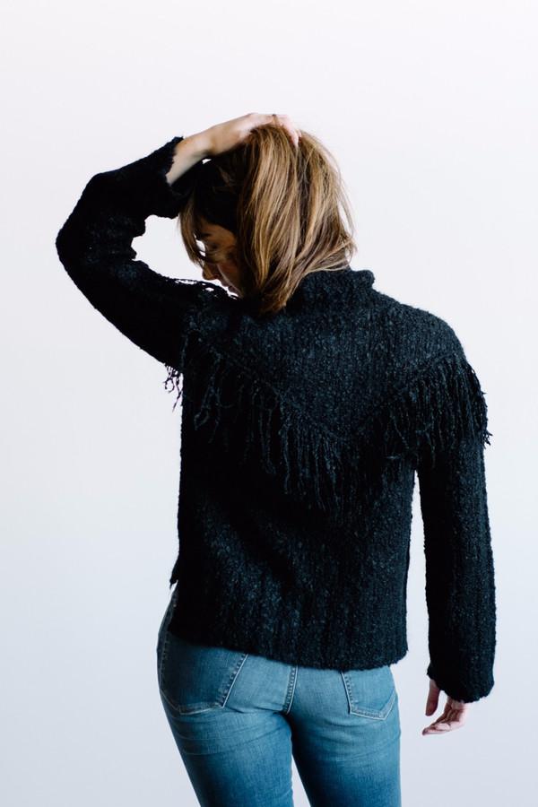 Arcana Magician Fringe Sweater