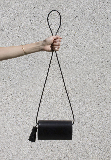 Building Block Leather Petite Cross-body