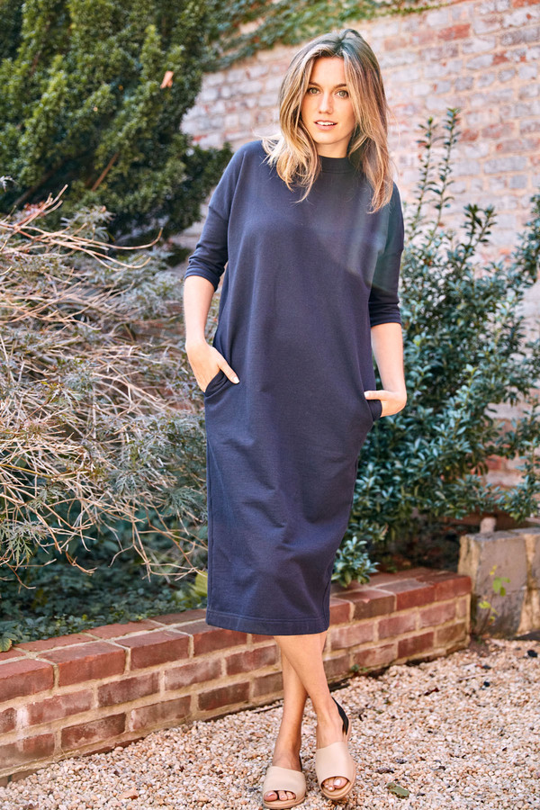 Ilana Kohn Barby Maxi Dress Navy