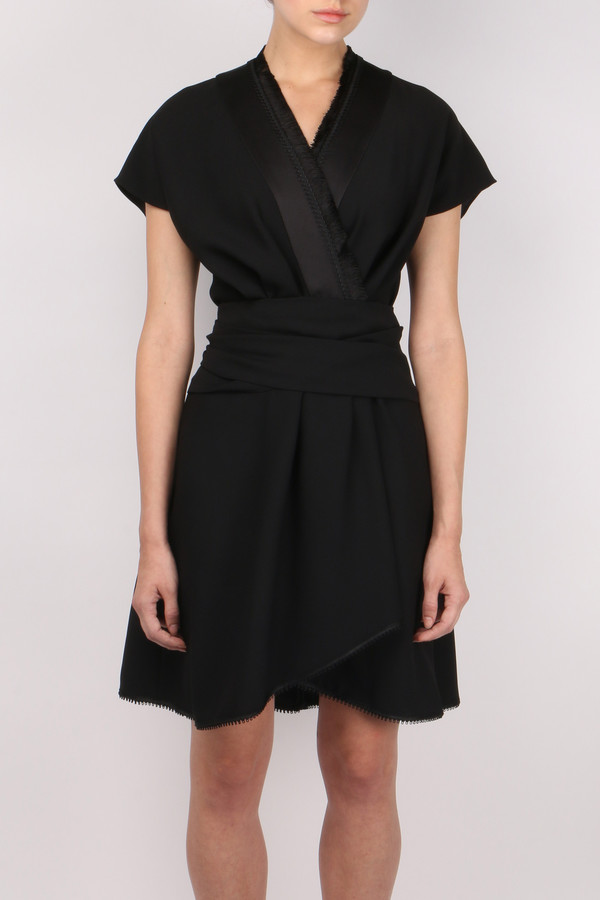 Carven Kimono Draped Dress