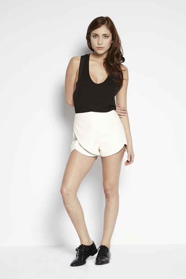 Bless'ed Are The Meek Half Moon Shorts