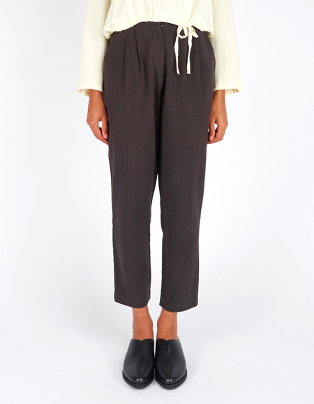 First Rite Narrow Trouser Charcoal