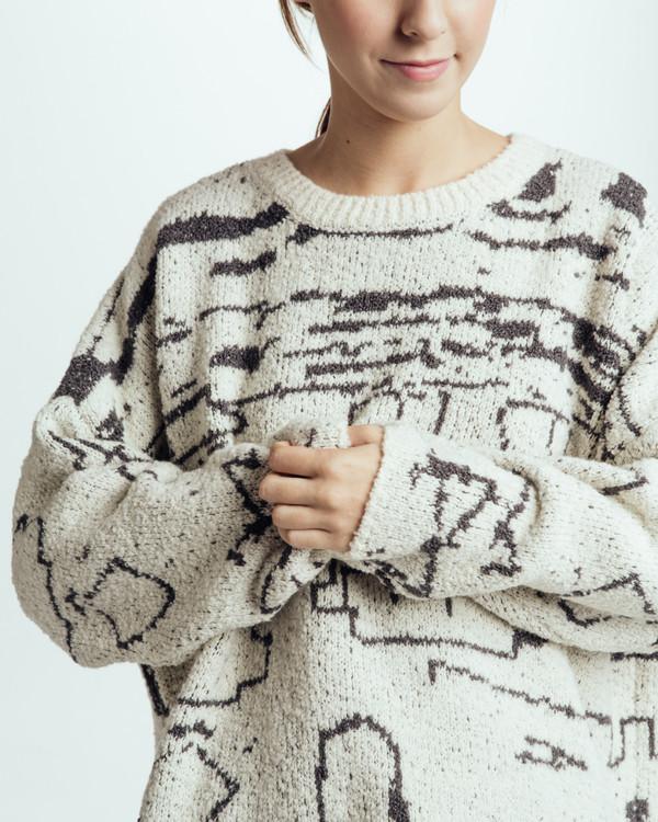 Revisited Matters Sabi Intarsia Sweater