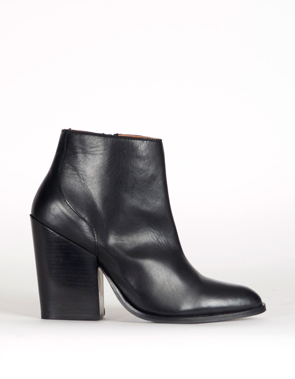 Selected Femme Tania High Heel Boot Black