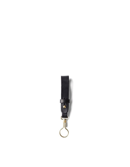 Tanner Goods Key Ring Lanyard Black