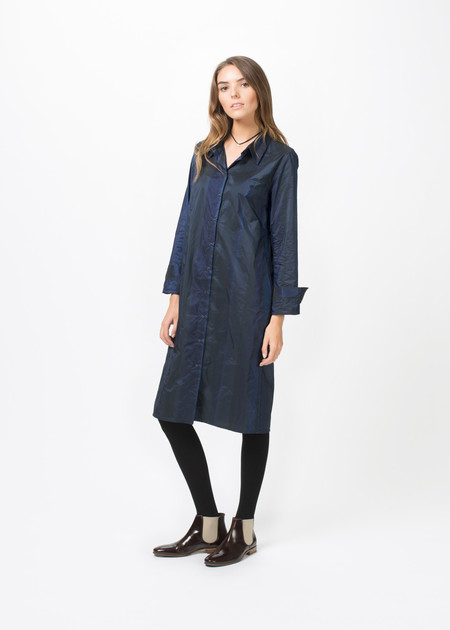 Hudson Snap-Front Shirtdress