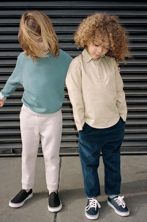 Kid's Boy+Girl Raglan Crew