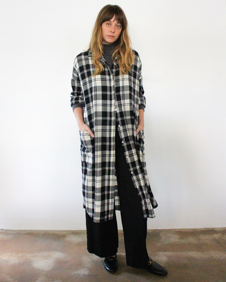 Esby DARCY SHIRT DRESS - PLAID