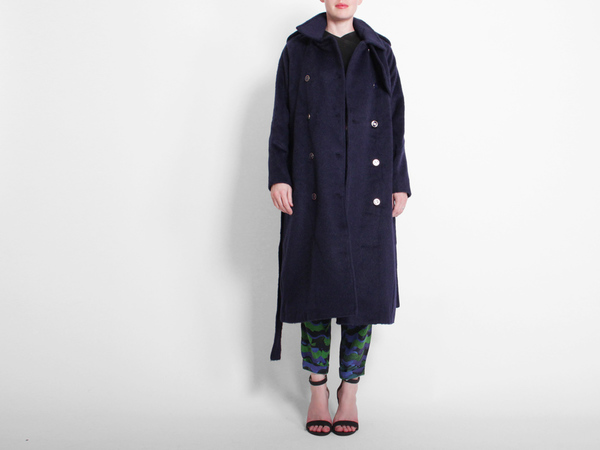 Rodebjer Egun Coat - Twilight Blue