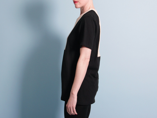 Correll Correll Ecke T-Shirt - Black/Natural