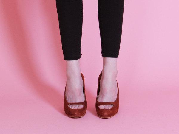 Rachel Comey Lanier Heel - Rust