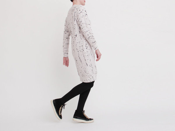 Mary Meyer Warm Smile Dress - White Galaxy
