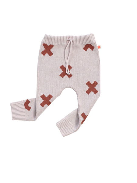 Kid's Tiny Cottons KNIT LOGO PANT - PINK