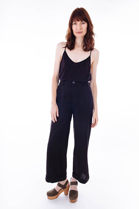 REIF HAUS Mara Pant in Black