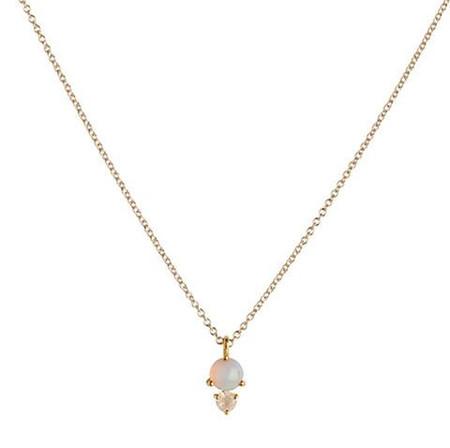 Leah Alexandra Opal Necklace