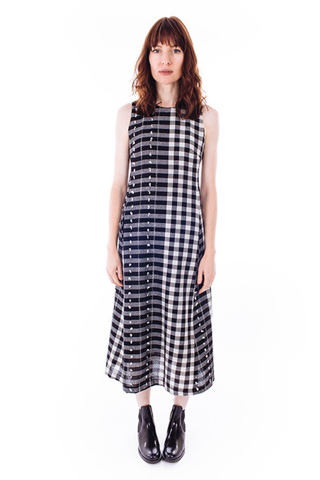 Svilu Swann Dress in Black & White