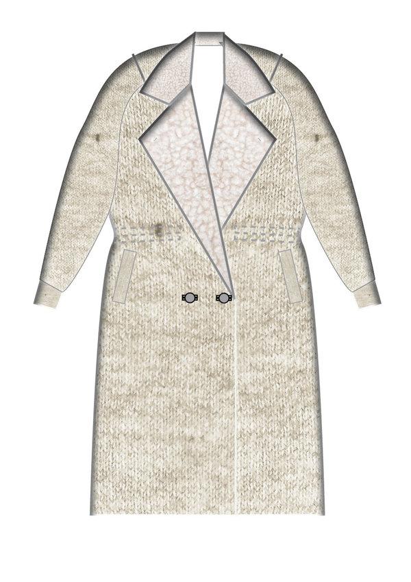 Berenik Coat Creme