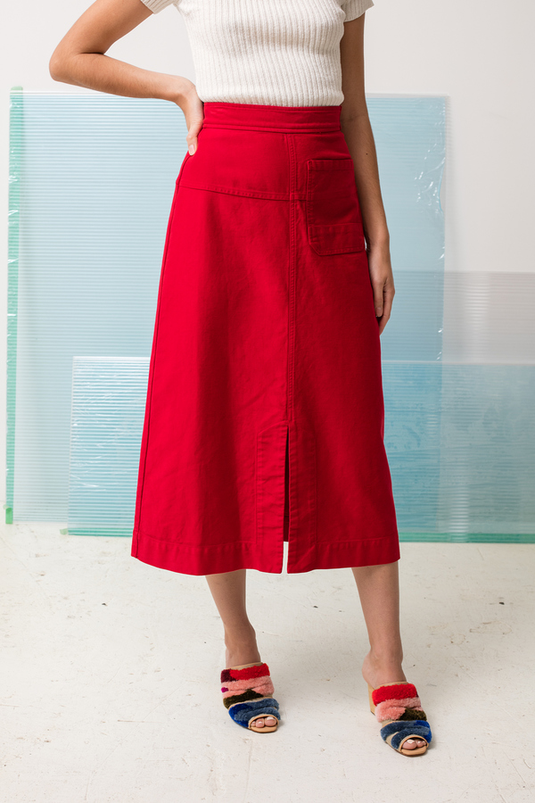 Rachel Comey Dahl - abstract embroidery