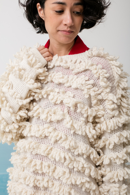 Delfina Balda Ro Knit - off white