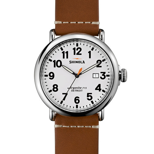 Shinola Detroi The Runwell 47mm - White Dial
