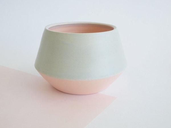 low angle vase