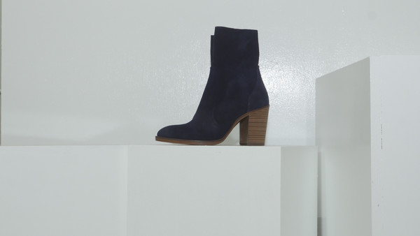 CROSSWALK SHOES POP UP PICO (3373) Blue Suede
