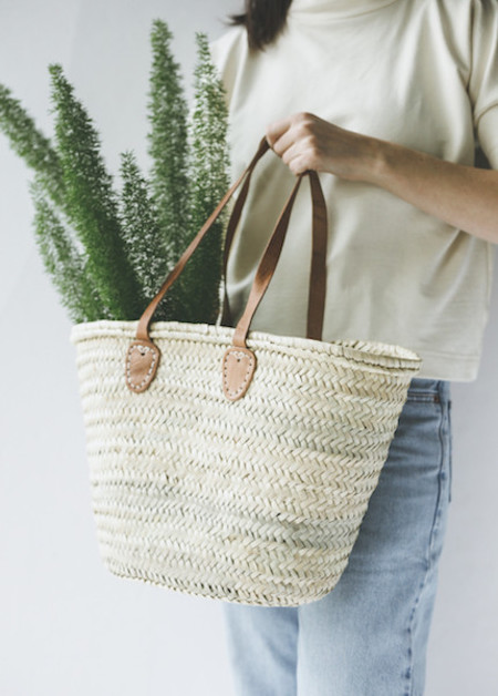 Small French Market Tote