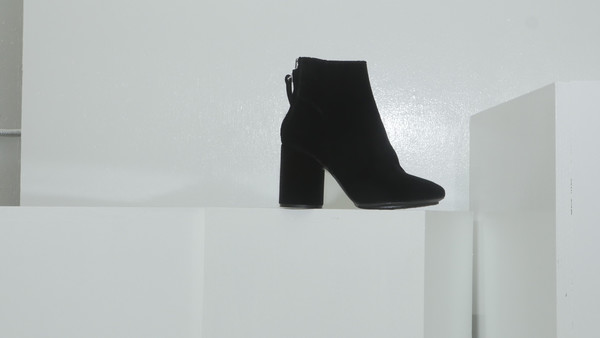 CROSSWALK SHOES POP UP HILL STREET (2354) Black Velvet