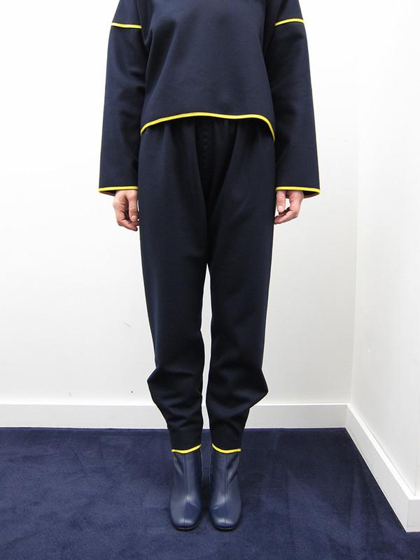 Buena Vista Wool Pant w/Grosgrain Trim