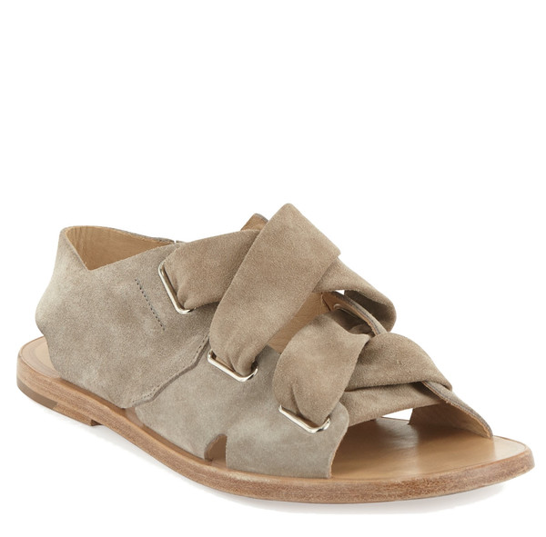 Rag & Bone Elda Sandal - Warm Grey Suede