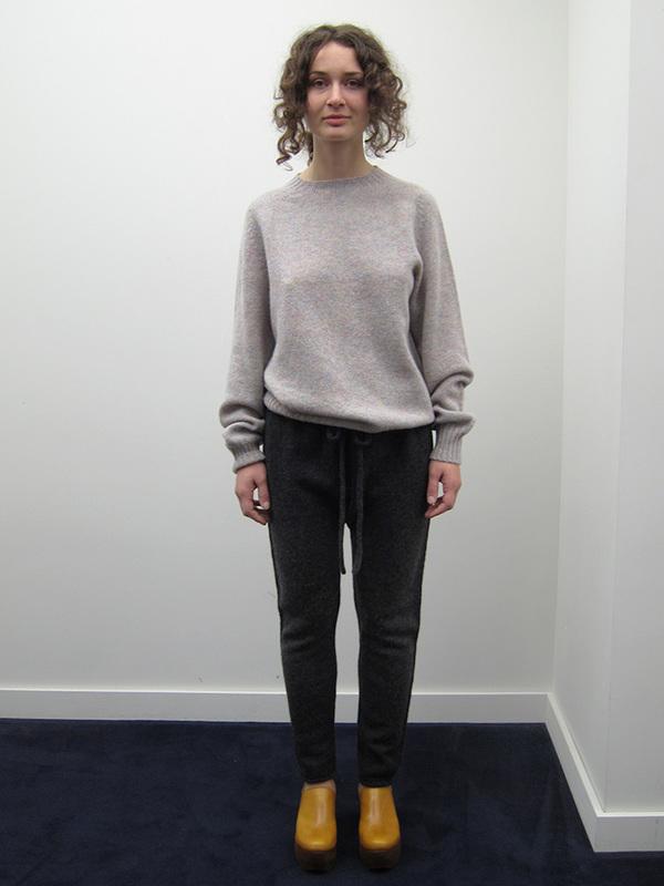 Lauren Manoogian Arch Pant, Dark Charcoal