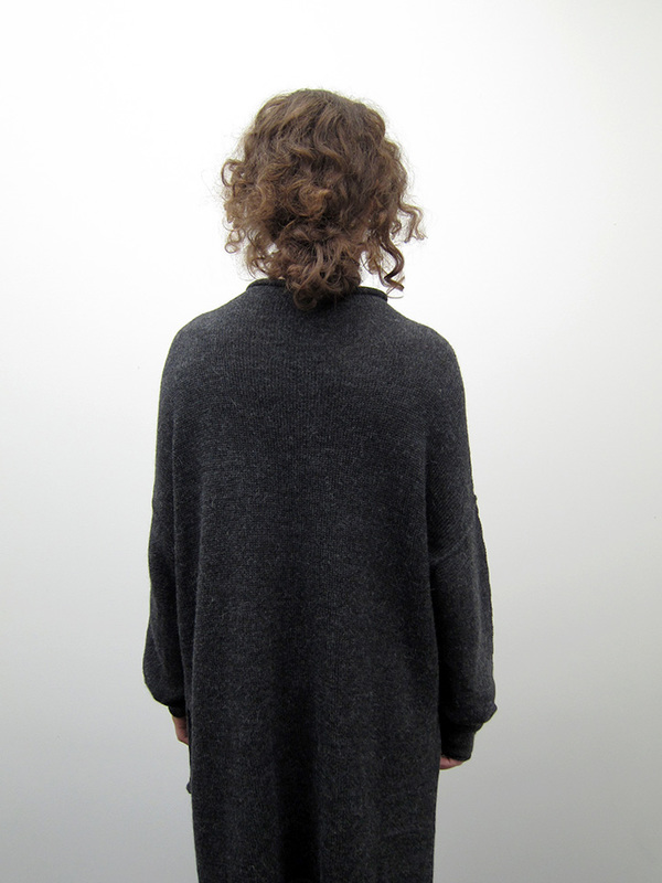 Lauren Manoogian Oversized Rollneck, Dark Charcoal