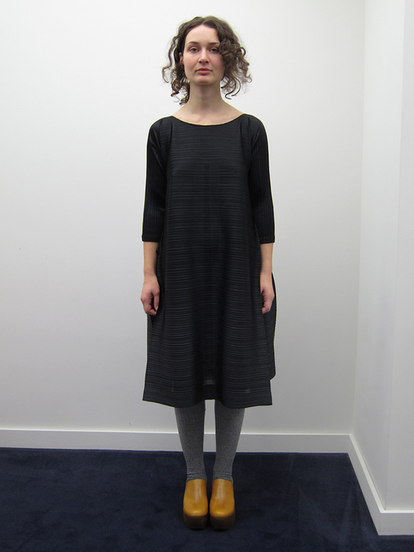 Issey Miyake Edgy Bounce Dress, Black