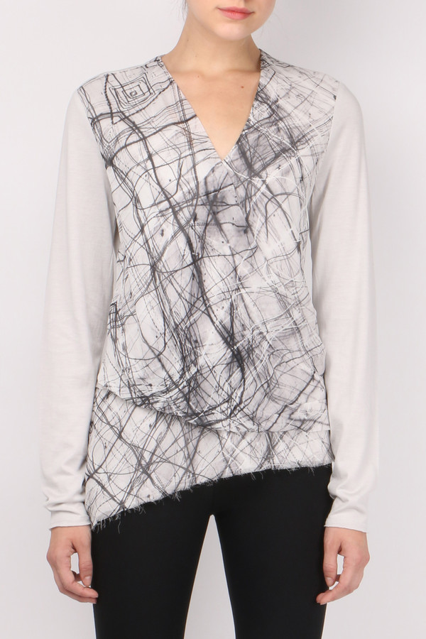 GOSILK Go Surplus Top