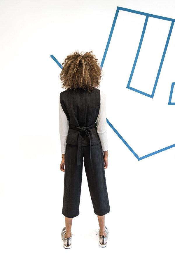 Wolcott : Takemoto Nadine Pant - Black